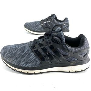 Adidas mens running shoes size 13 grey and black